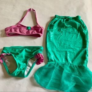 🌴CAT&JACK MERMAID SWIMSUIT